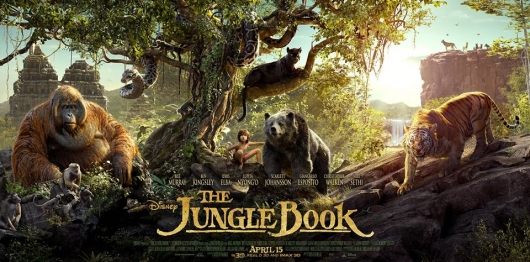 Disney The Jungle Book banner live action