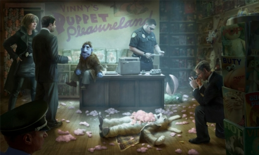 The Happytime Murders Concept Art