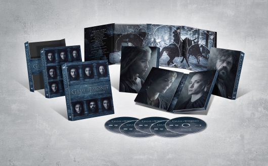 Game Of Thrones Season 6 DVD collection