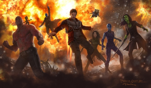 Guardians of the Galaxy Vol. 2 concept art image