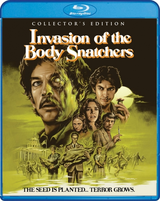 Invasion of the Body Snatchers Scream Factory Blu-ray Cover Art
