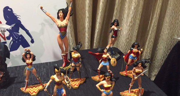 Wonder Woman statues