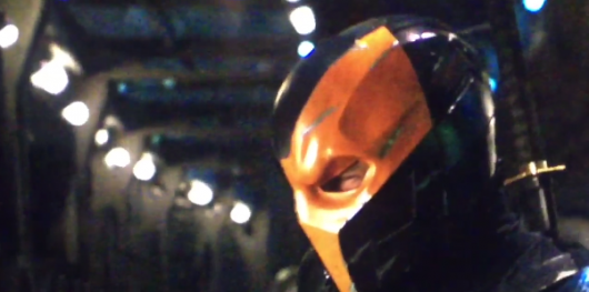 Deathstroke camera view Justice League