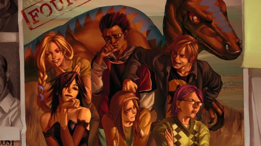 Marvel Runaways Hulu Series Cover