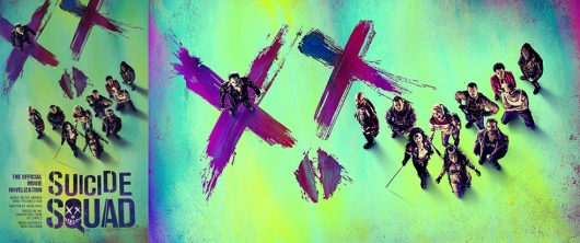 Suicide Squad The Official Movie Novelization cover banner