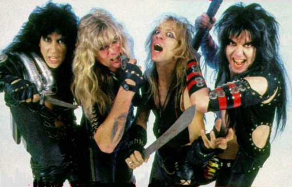 W.A.S.P. Band Photo 1984