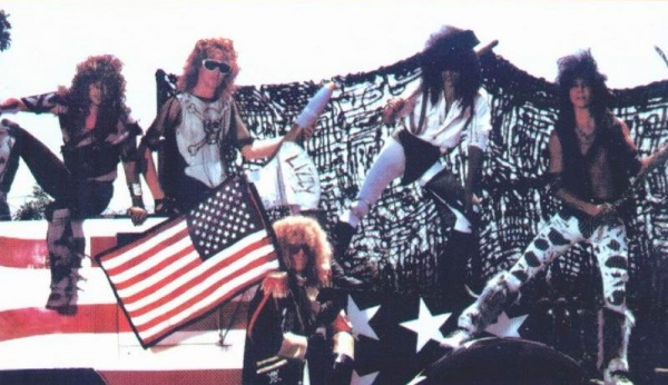 Lizzy Borden Band Photo