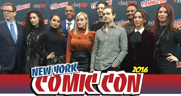 The Magicians roundtable, NYCC 2016