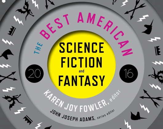 The Best American Science Fiction and Fantasy 2016 header