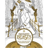 Fantastic Beasts And Where To Find Them Magical Creatures And Places Coloring Book