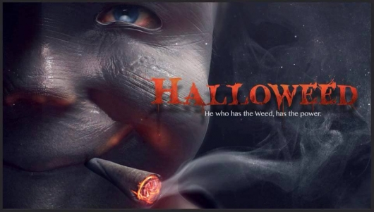 Halloweed movie banner 2016