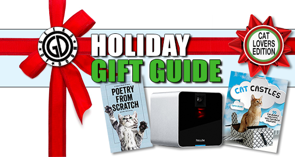 Holiday Cat Lovers Gift Guide 2016