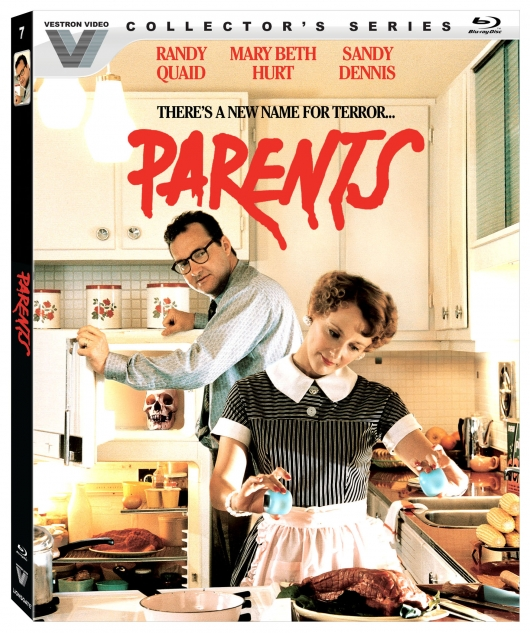 Parents Blu-ray Cover Art (Vestron Video Collector's Series)