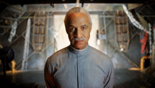 Ron Glass as Shepherd Book in Firefly