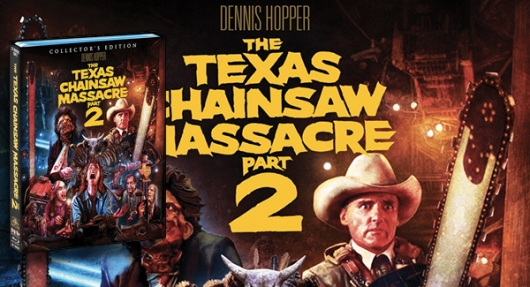 The Texas Chainsaw Massacre 2 Blu-ray banner