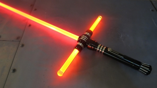 Ultra Sabers Star Wars Crossguard inspired  Lightsabers