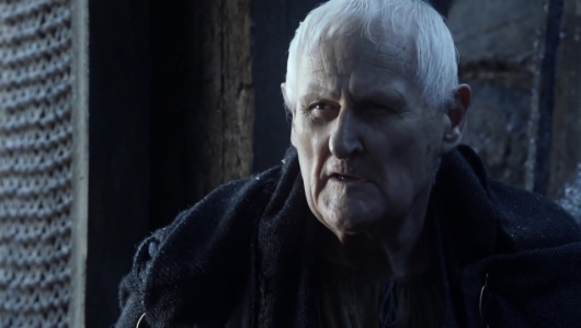 Peter Vaughan as Maester Aemon on Game of Thrones