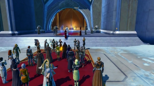 Star Wars: The Old Republic Players Gather At Castle Organa