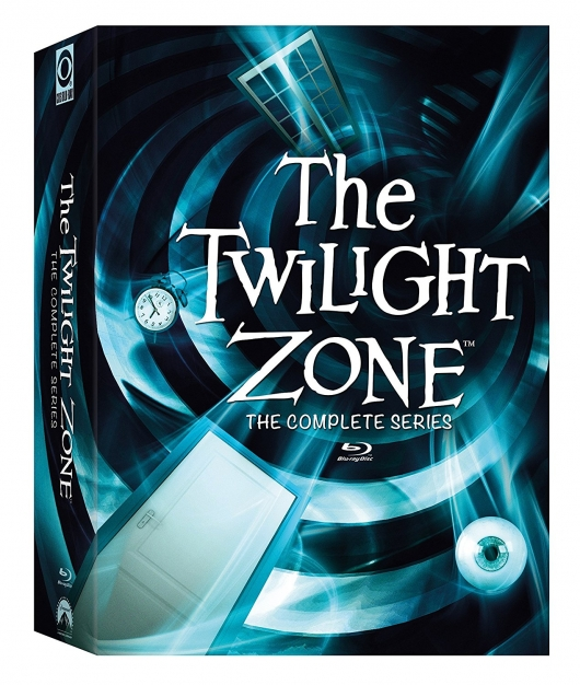The Twilight Zone: The Complete Series On Blu-ray Cover Art