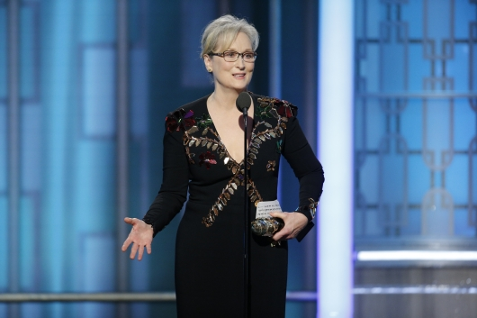 Meryl Streep Golden Globe Awards 2017