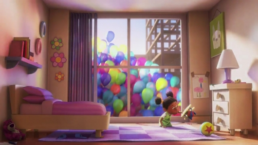 Pixar Easter Eggs Up