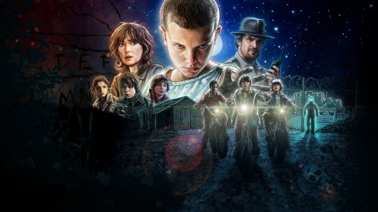 Stranger Things Netflix Banner