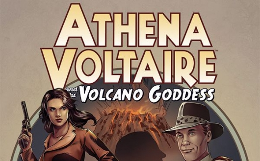Athena Voltaire and the Volcano Goddess header