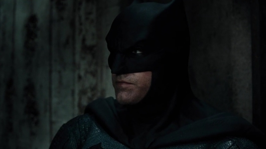 Ben Affleck as Batman in Justice League