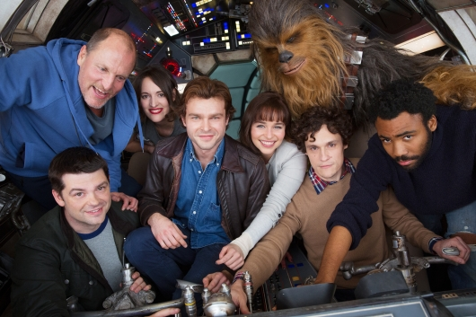 Untitled Han Solo Movie Cast Photo