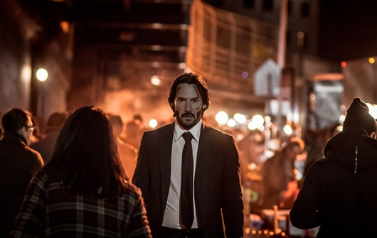 Keanu Reeves stars as John Wick in JOHN WICK: CHAPTER 2