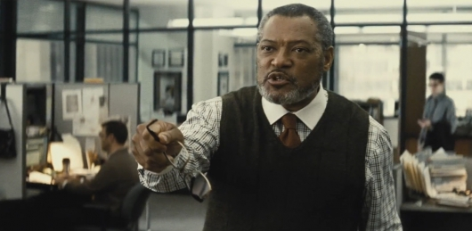 Laurence Fishburne as Perry White in Batman v Superman