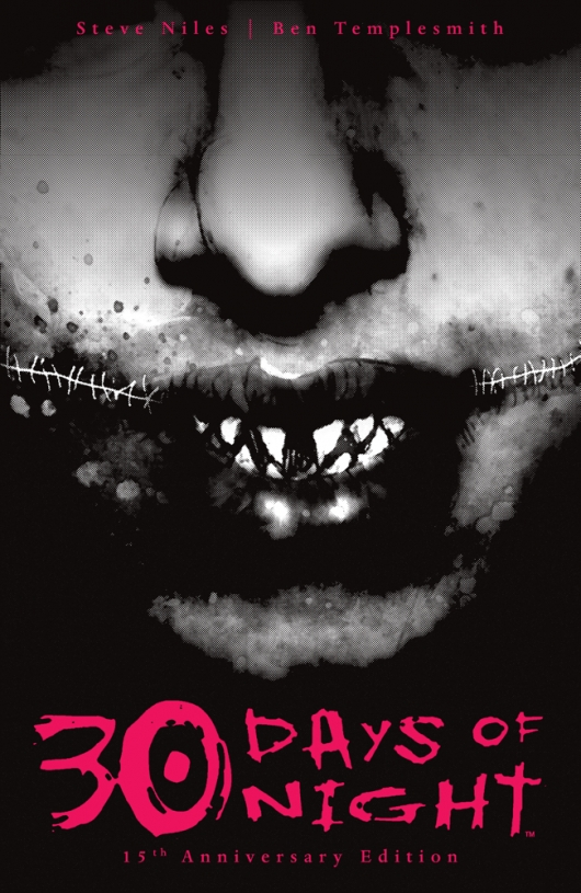 30 Days of Night 15th Anniversary Edition comic book cover