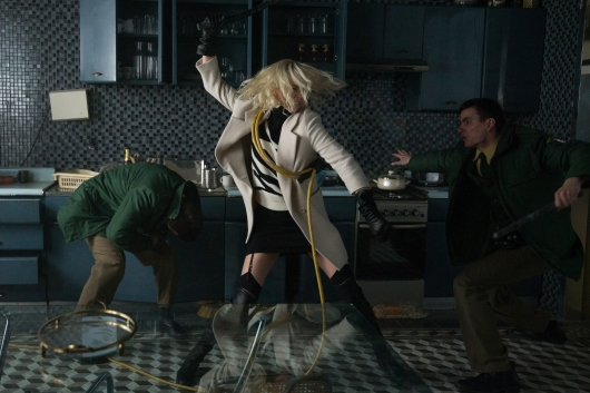 Atomic Blonde starring Charlize Theron