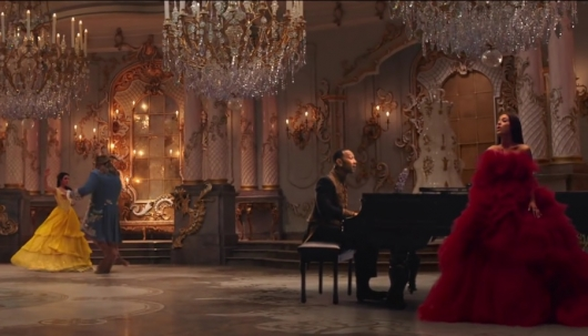 John Legend and Ariana Grande Sing Beauty and the Beast Title Song