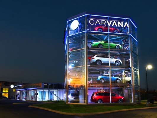 Carvana vending machine SXSW