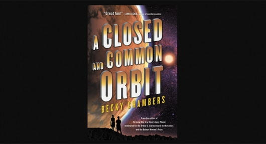 A Closed and Common Orbit by Becky Chambers book banner