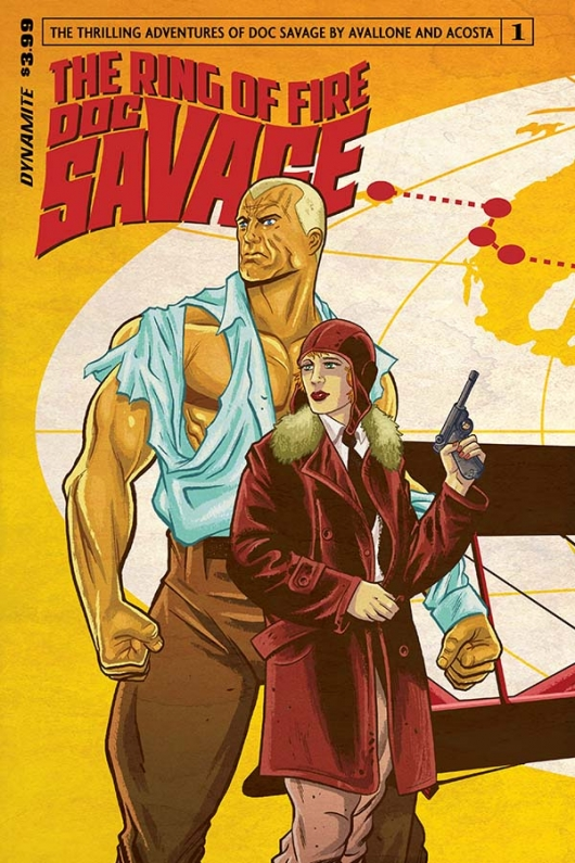 Doc Savage: The Ring Of Fire #1