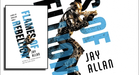 Flames Of Rebellion book banner Jay Allan