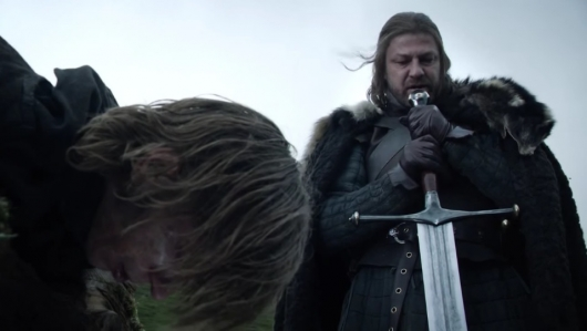 Game of Thrones: Ned Stark and Ice