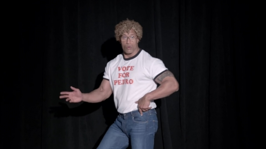 Dwayne Johnson As Napoleon Dynamite