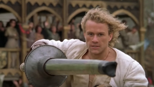 Heath Ledger in A Knight's Tale