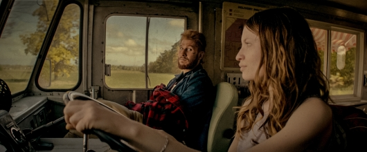 American Gods Laura Moon and Mad Sweeney Road Trip
