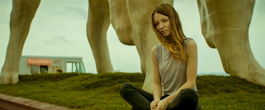 American Gods Emily Browning as Laura Moon