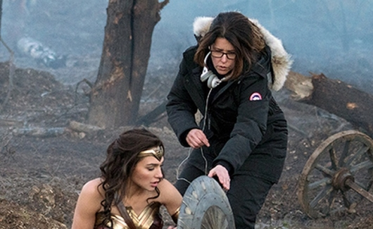 Patty Jenkins directs Wonder Woman
