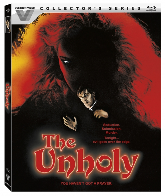 The Unholy (Vestron Video Collector's Series) Blu-ray Cover Art