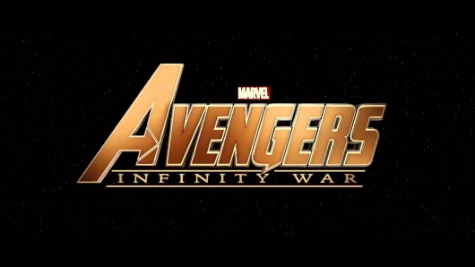 Avengers Infinity War title card header