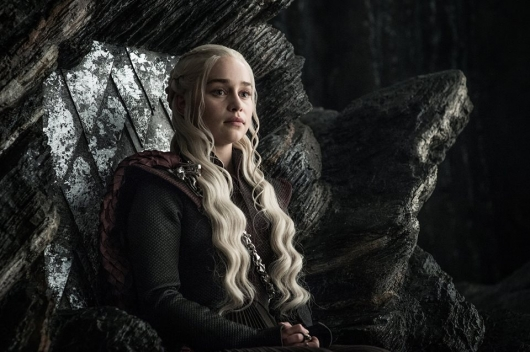 Game of Thrones Episode 7.3 Emilia Clarke as Daenerys Targaryen