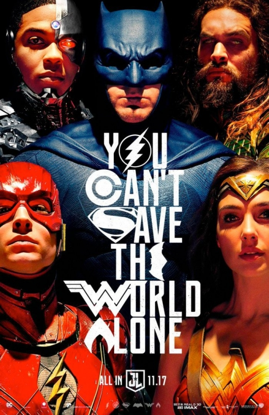 SDCC 2017: 4-Minute 'Justice League' Trailer & Poster