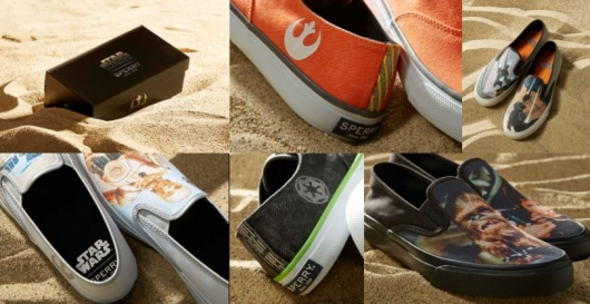 Introducing the Sperry x Star Wars Collection