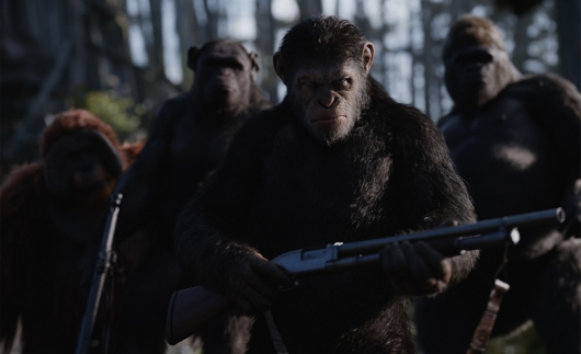 Twentieth Century Fox's War for the Planet of the Apes, starring Andy Serkis as Caesar